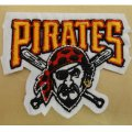 Pittsburgh Pirates Logo Embroidered Iron On Patches