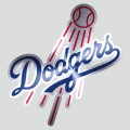 Los Angeles Dodgers Stainless steel logo iron on transfer