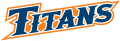 Cal State Fullerton Titans 2010-Pres Wordmark Logo decal sticker