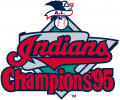 Cleveland Indians 1995-1996 Champion Logo iron on transfer