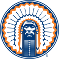 Illinois Fighting Illini 1989-2003 Primary Logo decal sticker