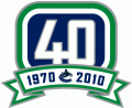 Vancouver Canucks 2010 11 Anniversary Logo iron on transfer
