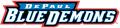 DePaul Blue Demons 1999-Pres Wordmark Logo decal sticker