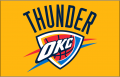 Oklahoma City Thunder 2009-Pres Primary Dark Logo iron on transfer