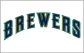 Milwaukee Brewers 1998-1999 Jersey Logo decal sticker