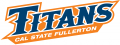 Cal State Fullerton Titans 2010-Pres Wordmark Logo 02 decal sticker
