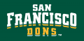 San Francisco Dons 2012-Pres Wordmark Logo 04 iron on transfer
