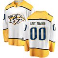 Nashville Predators Custom Letter and Number Kits for White Jersey
