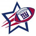 New York Giants Football Goal Star iron on transfer