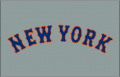 New York Mets 2012-Pres Jersey Logo 02 decal sticker