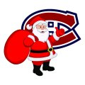 Montreal Canadiens Santa Claus Logo decal sticker