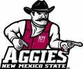 New Mexico State Aggies 2007-Pres Primary Logo decal sticker