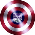 captain american shield with sacramento kings logo iron on transfer