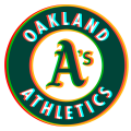 Phantom Oakland Athletics logo decal sticker