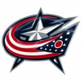 columbus blue jackets crystal logo iron on stickers
