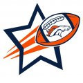 Denver Broncos Football Goal Star iron on transfer