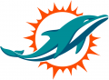 Miami Dolphins 2018-Pres Primary Logo iron on transfer