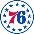 Philadelphia 76ers 2015-Pres Alternate Logo decal sticker