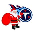 Tennessee Titans Santa Claus Logo iron on transfer