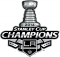 Los Angeles Kings 2013 14 Champion Logo decal sticker