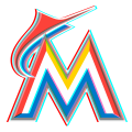 Phantom Miami Marlins logo decal sticker