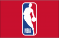 National Basketball Association 2017-2018 Primary Dark Logo decal sticker