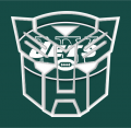 Autobots New York Jets logo decal sticker