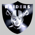 Oakland Raiders Stainless steel logo iron on transfer