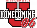 Utah Utes 2006 Misc Logo decal sticker