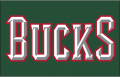 Milwaukee Bucks 2006-2015 Jersey Logo decal sticker