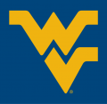 West Virginia Mountaineers 1980-Pres Alternate Logo 01 decal sticker