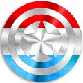 CAPTAIN AMERICA Luxembourg decal sticker