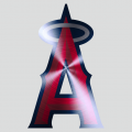 Los Angeles Angels of Anaheim Stainless steel logo iron on transfer
