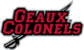Nicholls State Colonels 2009-Pres Wordmark Logo 04 iron on transfer
