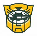 Autobots Green Bay Packers logo decal sticker