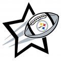 Pittsburgh Steelers Football Goal Star iron on transfer