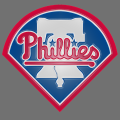 philadelphia phillies 1992-pres primary plastic effect logo iron on transfer
