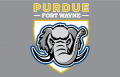 Purdue Fort Wayne Mastodons 2018-Pres Primary Dark Logo decal sticker