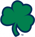 Notre Dame Fighting Irish 1994-Pres Alternate Logo 07 decal sticker