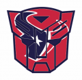 Autobots Houston Texans logo decal sticker