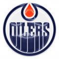 edmonton oilers crystal logo iron on stickers