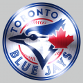 Toronto Blue Jays Stainless steel logo decal sticker