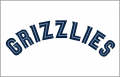 Memphis Grizzlies 2004-2018 Jersey Logo decal sticker
