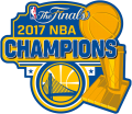 Golden State Warriors 2017 Champion Logo decal sticker