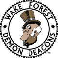 Wake Forest Demon Deacons 1968-1992 Primary Logo iron on transfer