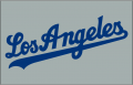 Los Angeles Dodgers 2007-Pres Jersey Logo decal sticker