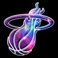 galaxy miami heat decal stickers