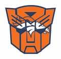Autobots Denver Broncos logo decal sticker