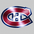 Montreal Canadiens Stainless steel logo decal sticker