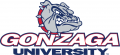 Gonzaga Bulldogs 1998-2003 Primary Logo iron on transfer